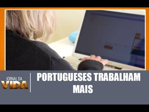 Portugueses trabalham mais do que a média em países europeus - Jornal da Vida - 06/03/18