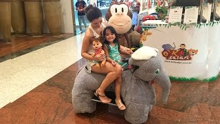 Bia Lobo e BABY ALIVE Passeio no Shopping TOUR