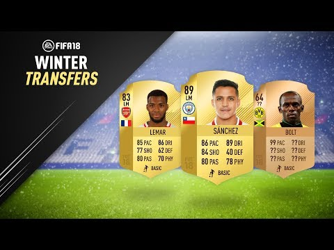 JANUARY TRANSFERS! CONFIRMED DEALS & RUMOURS! w/ SANCHEZ, LEMAR & MORE! | FIFA 18 ULTIMATE TEAM