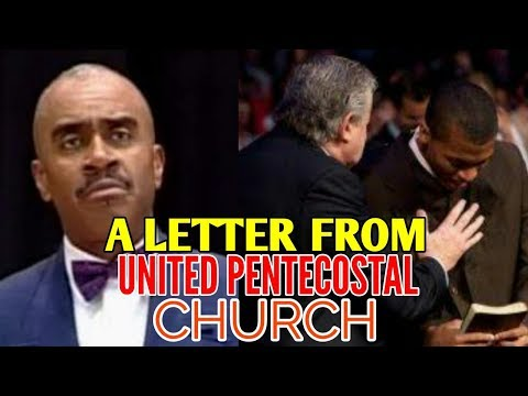 Gino Jennings | A LETTER FROM UPC ( UNITED PENTECOSTAL CHURCH)