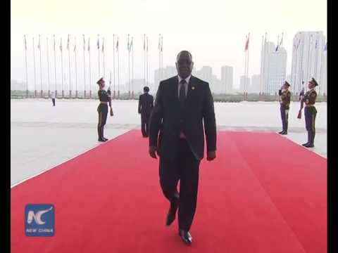 World leaders arriving at G20 summit venue