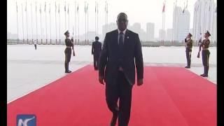 World leaders arriving at G20 summit venue
