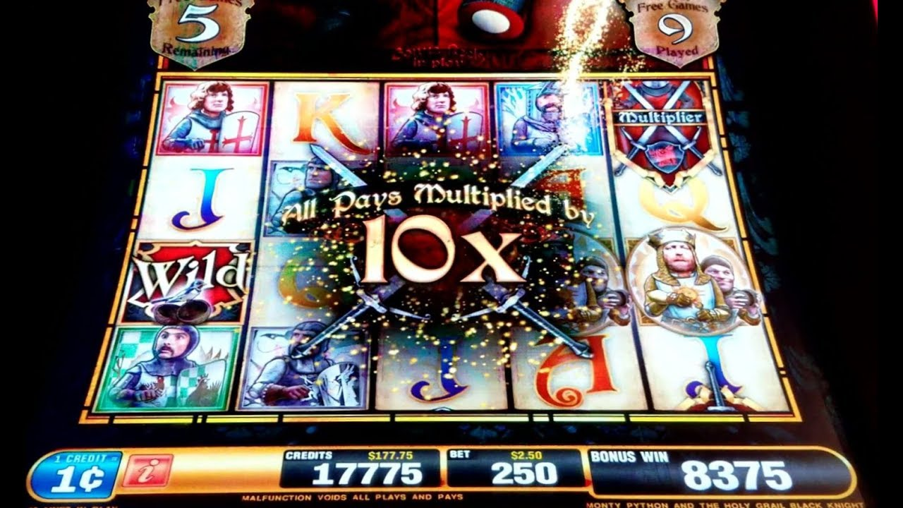 Monty Python And The Holy Grail Slot Machine