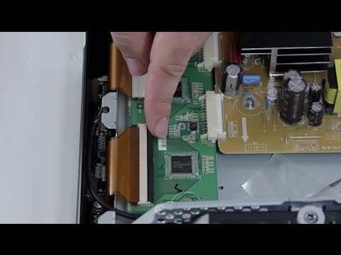 Plasma TV Repair Ribbon Cable Removal & Install Tutorial Overview