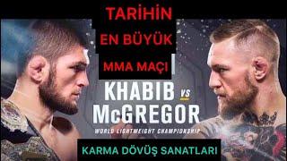 MCGREGOR VS KHABİB TARİHİ MAÇ!!!