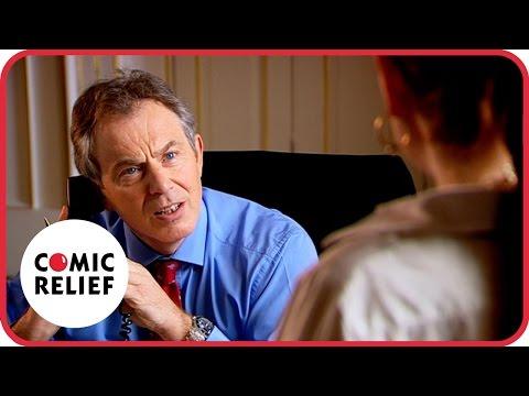 Lauren Copper meets Tony Blair - Classic Comic Relief