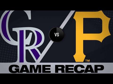 Sports Wrap with Ron Potesta - Marquez, Rockies Shut Down Pirates