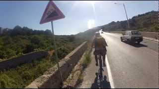 Malta By Bike In 48 Hours W/ Gopro Hd Hero 2