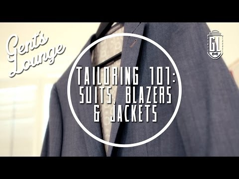 Tailoring 101: How to tailor your Suits Jackets and Blazers