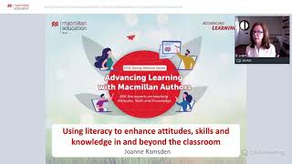 Using literacy to enhance attitudes, skills and knowledge in and beyond the classroom