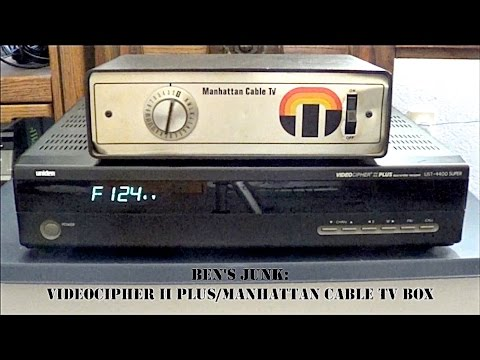Oddity Archive: Episode 125.5 – Ben's Junk: VideoCipher II Plus/Manhattan Cable TV Box