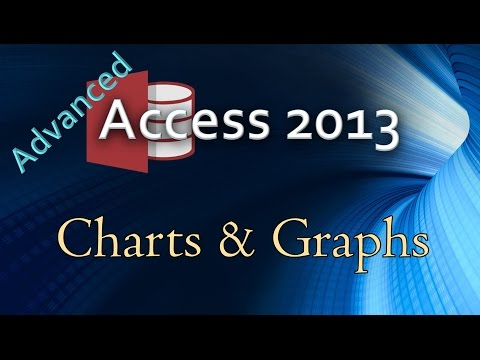 25. (Advanced Programming In Access 2013) Adding Charts & Graphs To Forms