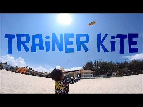 How to fly the trainer kite first time