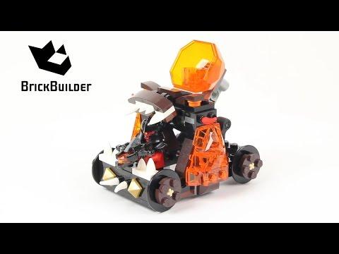 Lego Nexo Knights 70311 Chaos Catapult - Lego Speed build - YouTube