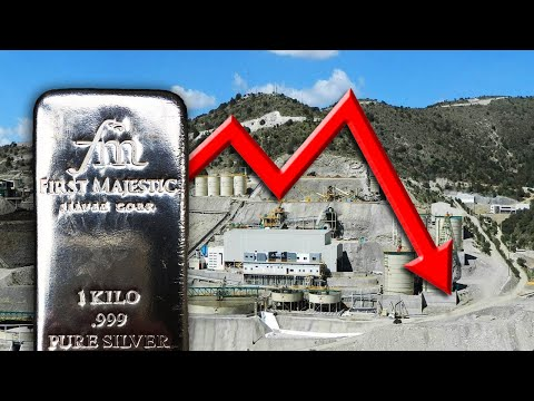 First Majestic Suspends Silver Mine; Projects Lower Silver Output For 2020