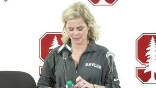 Dec. 15, 2018 - Baylor at Stanford, postgame press conference