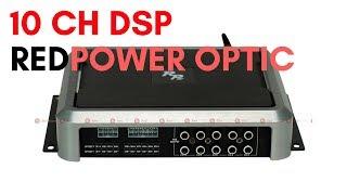 Автомобильный DSP процессор с усилителем 10 каналов Redpower RP DSP10