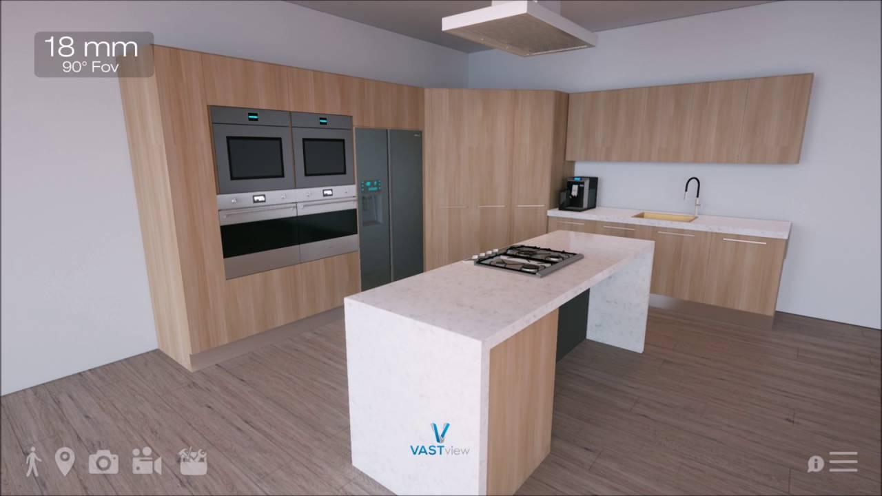 VASTview Studios 3D Kitchen Visualizer
