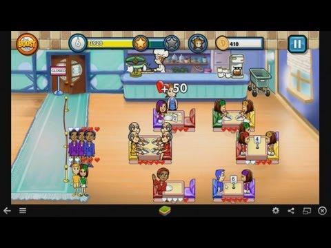 Diner Dash - Gameplay