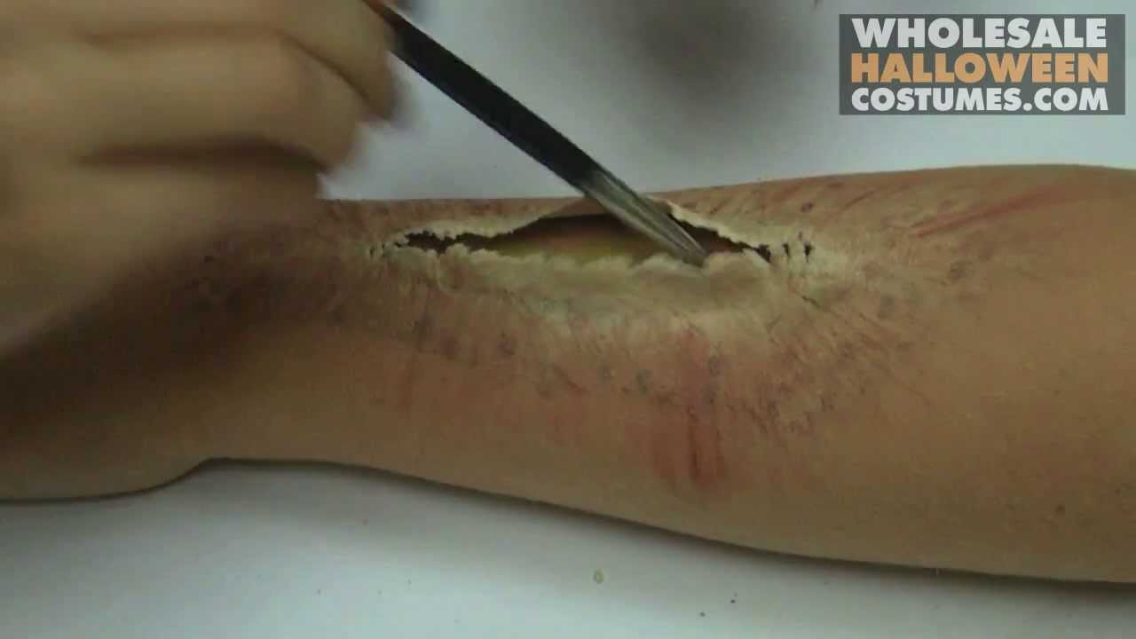 Special Effects | Bloody Wound Make up Tutorial - YouTube