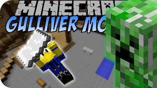 Minecraft GULLIVER MOD (Mobs verkleinern & vergrößern) [Deutsch]
