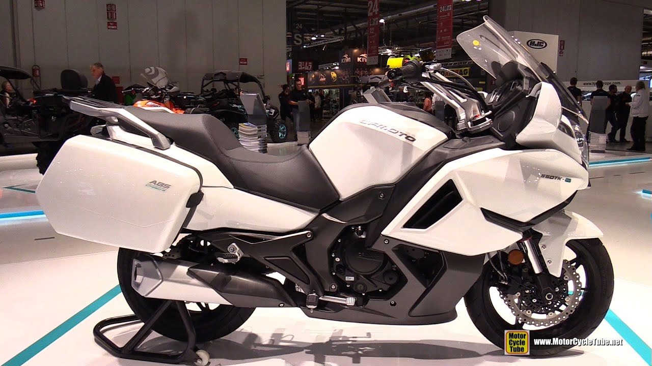 2016 Cfmoto 650 Tk G Walkaround 2015 Eicma Milan Youtube