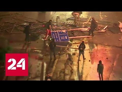 Из-за транспортного бунта в чилийской столице введен комендантский час - Россия 24
