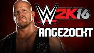 Das ERSTE Mal! | WWE 2K16 GAMEPLAY! [German/PS4/1080p] | Hansafan zockt | HD