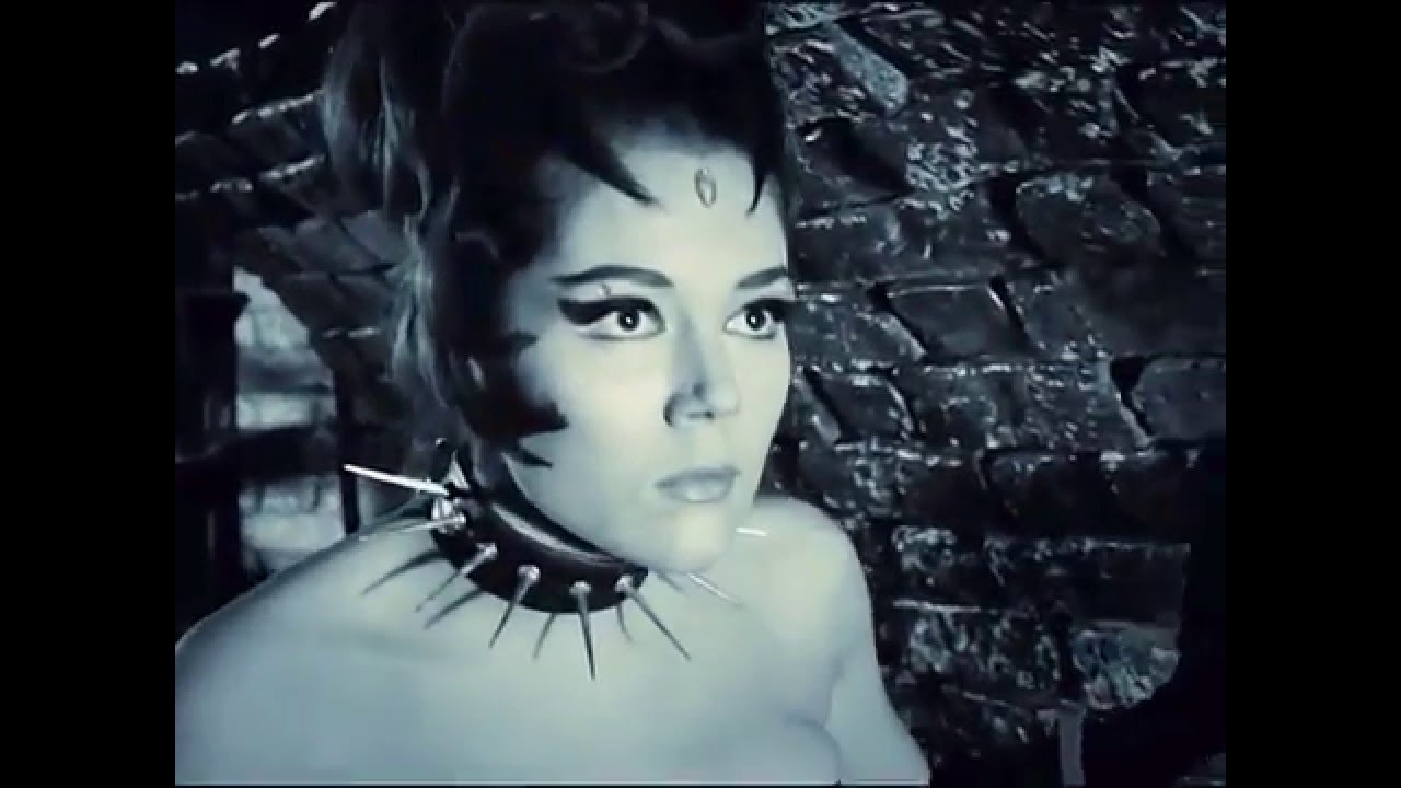Emma Peel - Queen of Sin whipped - slow-motion HD