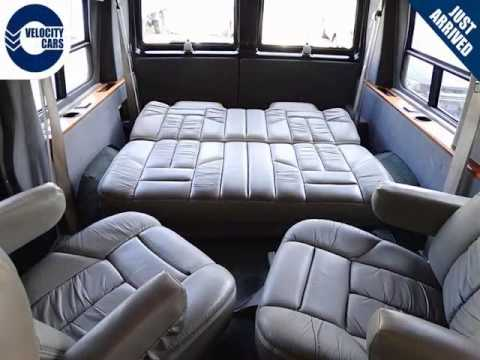 Vancouver Velocity Cars - BC - 1996 Chevrolet Astro (GMC Safari) AWD 51Ml Camper - YouTube