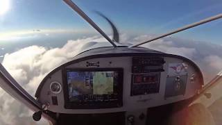 Flying high in the Zenith CH 750 Cruzer