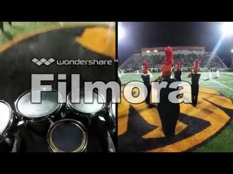 Duncan High School  Band go pro video 2016