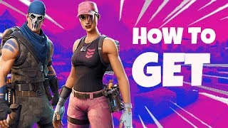 HOW TO GET FREE FOUNDER'S SKINS IN FORTNITE SAVE THE WORLD | Rose Team Leader + Warpaint skins