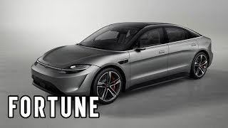 Sony Unveils an Electric Car at CES