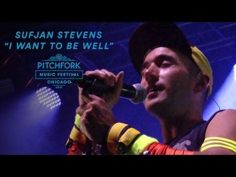 """Sufjan Stevens performs """"I Want To Be Well""""   Pitchfork Music Festival 2016"""
