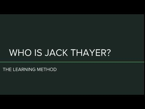 Who is Jack Thayer? - The Learning Method