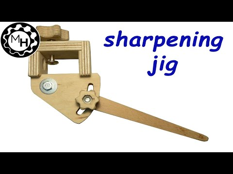 Homemade Sharpening Jig For Woodturning Tools free Plans YouTube