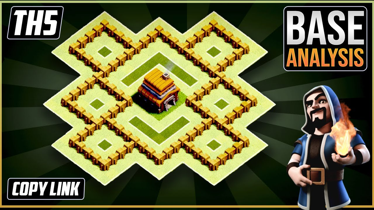 NEW Ultimate TH5 HYBRID/TROPHY[defense] Base 2020!!  Town Hall 5 Hybrid Base Design – Clash of Clans