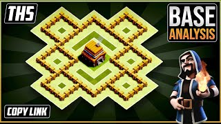 NEW Ultimate TH5 HYBRID/TROPHY[defense] Base 2020!!  Town Hall 5 Hybrid Base Design - Clash of Clans