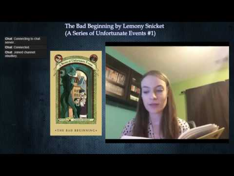 A Series of Unfortunate Events #1: The Bad Beginning by Lemony Snicket (Part 2)