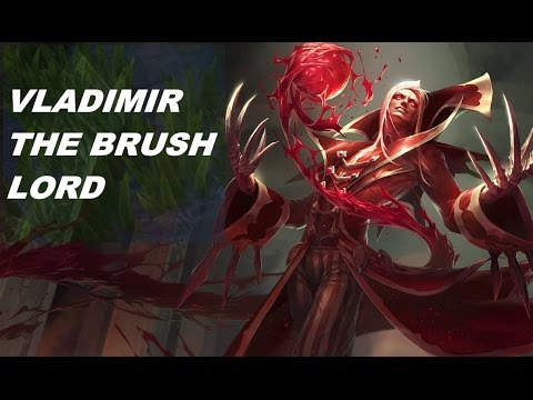 LoL - Vladimir the brush lord - Triple Kill