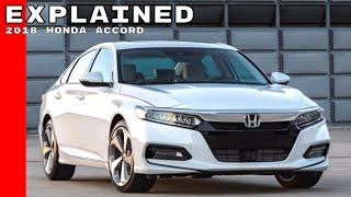 2018 Honda Accord Explained