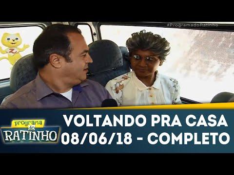 Voltando Pra Casa - Completo | Programa Do Ratinho (08/06/18)