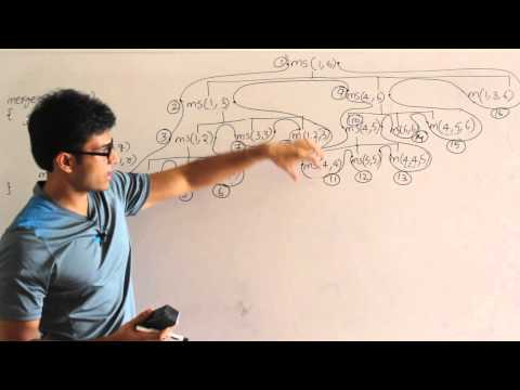 Algorithm lecture 8 -- Merge sort algorithm, analysis and problems