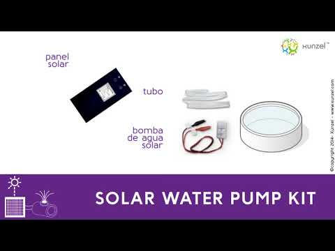 Microsolar water pump kit