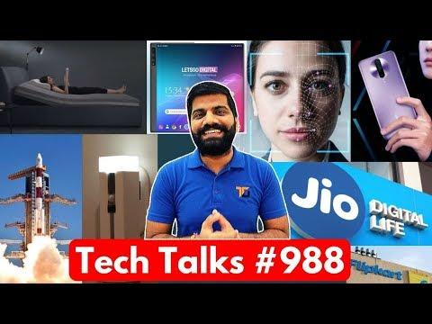 Tech Talks #988 - Realme Sad News, Flipkart Fraud, AirTel Jio Vodafone Idea Price, ISRO Spaceport