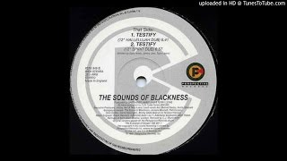 "Sounds Of Blackness - Testify (12"" Hallelujah Dub & 12"" Spirit Dub)"