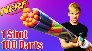 Most Dangerous Nerf Mod Ever! (Nerf Shotgun)