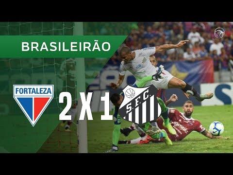 FORTALEZA 2 X 1 SANTOS - GOLS - 28/11 - BRASILEIRÃO 2019
