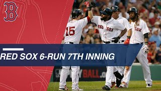 Red Sox blow game open in 7th